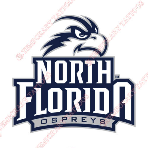 UNF Ospreys Customize Temporary Tattoos Stickers NO.6713