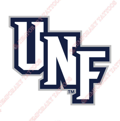 UNF Ospreys Customize Temporary Tattoos Stickers NO.6714