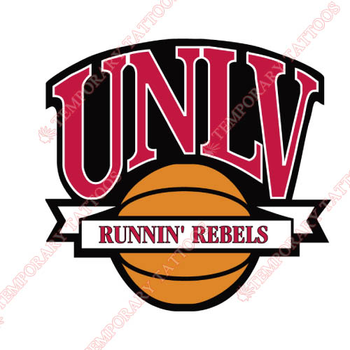UNLV Rebels Customize Temporary Tattoos Stickers NO.6721