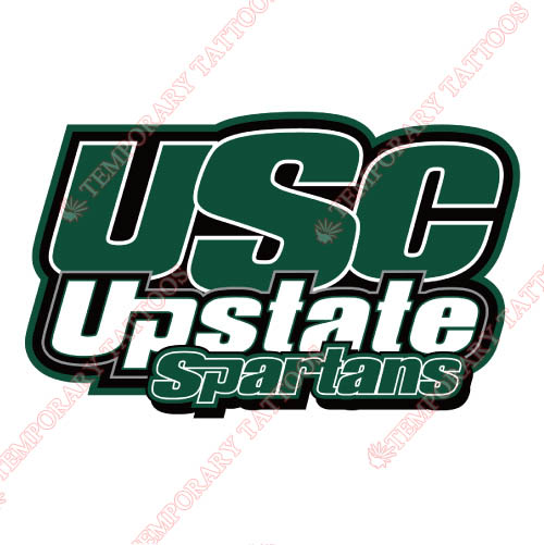 USC Upstate Spartans Customize Temporary Tattoos Stickers NO.6728