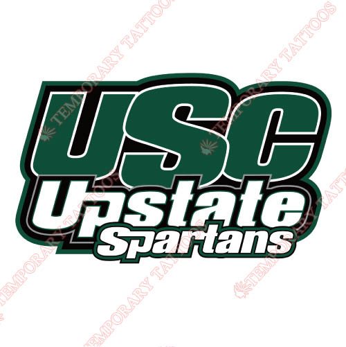 USC Upstate Spartans Customize Temporary Tattoos Stickers NO.6729