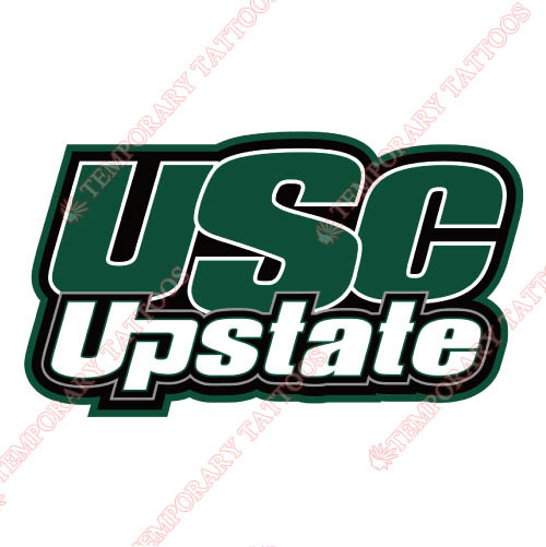 USC Upstate Spartans Customize Temporary Tattoos Stickers NO.6730