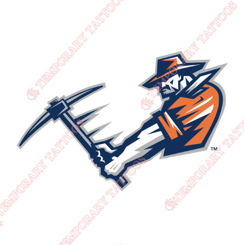 UTEP Miners Customize Temporary Tattoos Stickers NO.6764