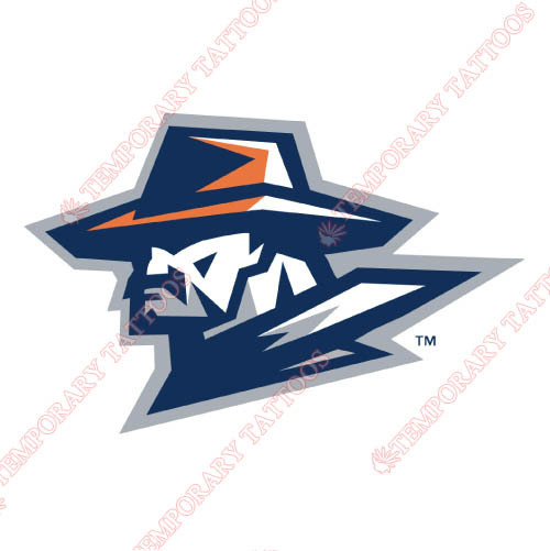 UTEP Miners Customize Temporary Tattoos Stickers NO.6770