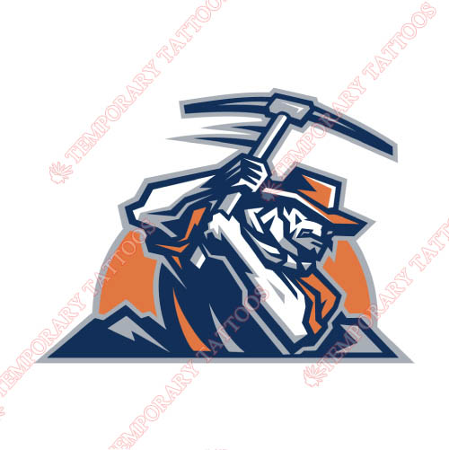 UTEP Miners Customize Temporary Tattoos Stickers NO.6773