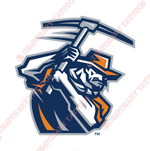UTEP Miners Customize Temporary Tattoos Stickers NO.6778
