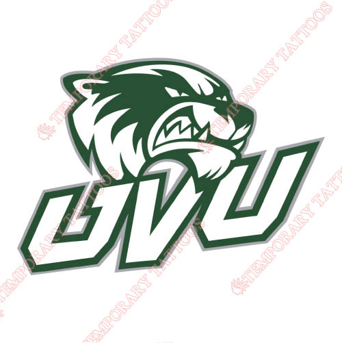 Utah Valley Wolverines Customize Temporary Tattoos Stickers NO.6754