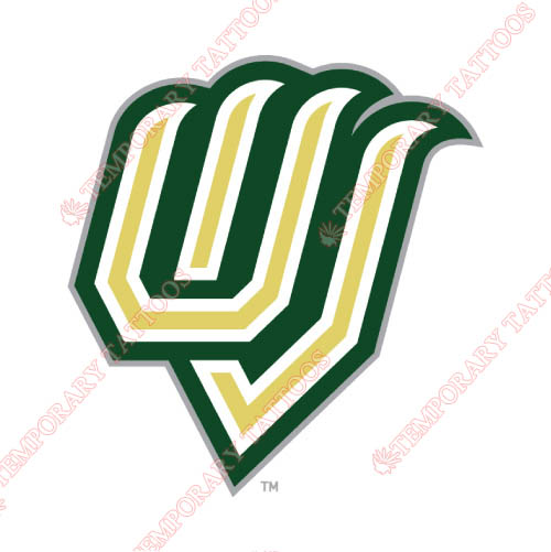 Utah Valley Wolverines Customize Temporary Tattoos Stickers NO.6756