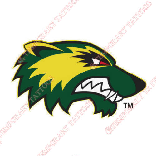 Utah Valley Wolverines Customize Temporary Tattoos Stickers NO.6758