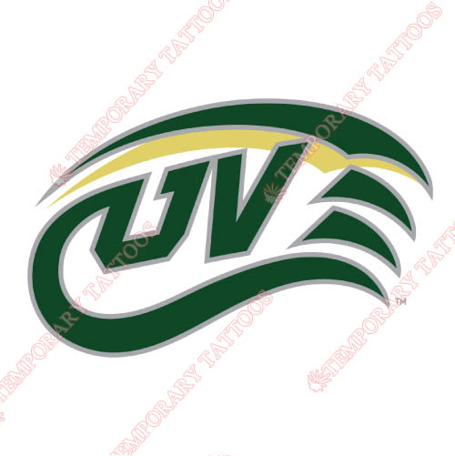 Utah Valley Wolverines Customize Temporary Tattoos Stickers NO.6760