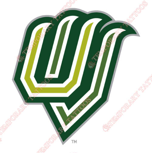 Utah Valley Wolverines Customize Temporary Tattoos Stickers NO.6761