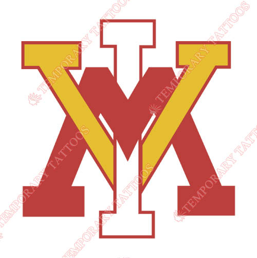 VMI Keydets Customize Temporary Tattoos Stickers NO.6865