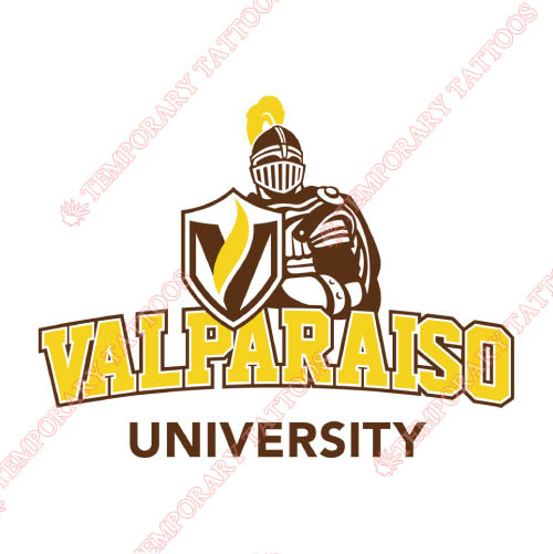 Valparaiso Crusaders Customize Temporary Tattoos Stickers NO.6786