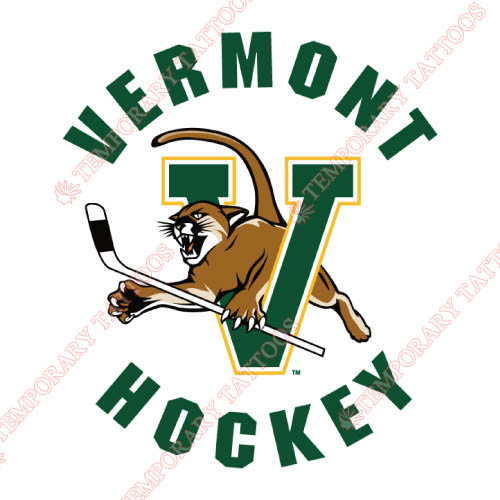 Vermont Catamounts Customize Temporary Tattoos Stickers NO.6805