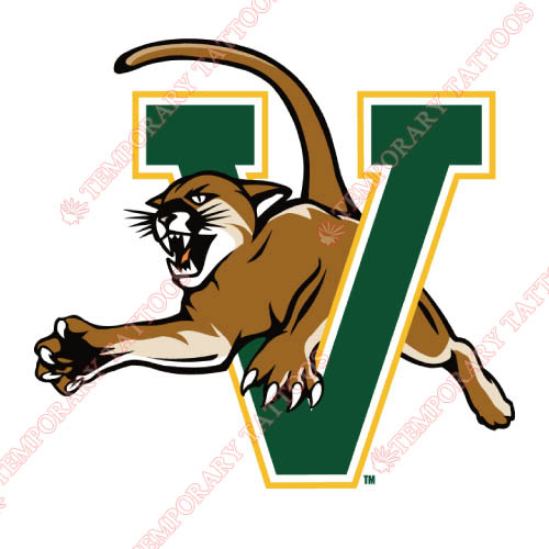 Vermont Catamounts Customize Temporary Tattoos Stickers NO.6806