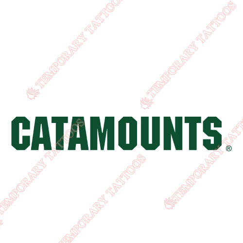 Vermont Catamounts Customize Temporary Tattoos Stickers NO.6808