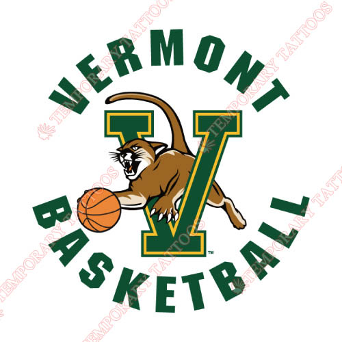 Vermont Catamounts Customize Temporary Tattoos Stickers NO.6810