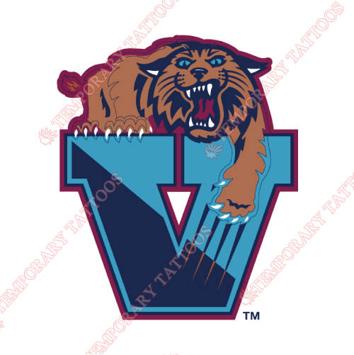 Villanova Wildcats Customize Temporary Tattoos Stickers NO.6822