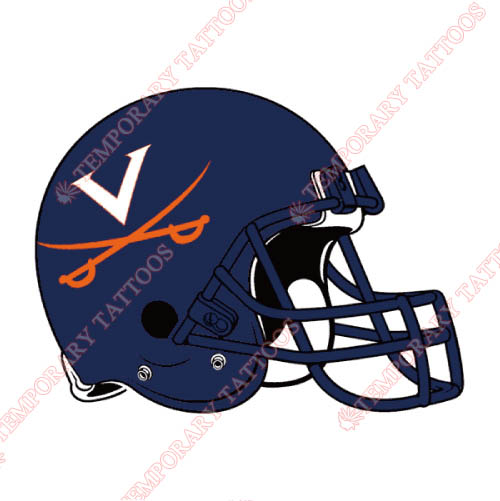 Virginia Cavaliers Customize Temporary Tattoos Stickers NO.6836