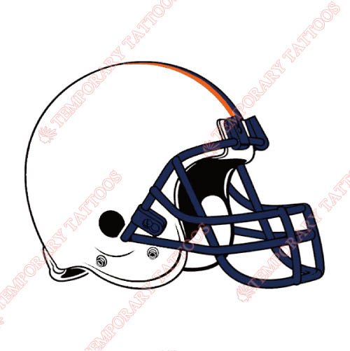 Virginia Cavaliers Customize Temporary Tattoos Stickers NO.6837