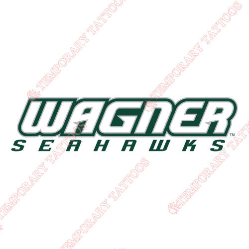Wagner Seahawks Customize Temporary Tattoos Stickers NO.6870
