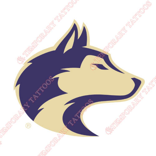Washington Huskies Customize Temporary Tattoos Stickers NO.6890