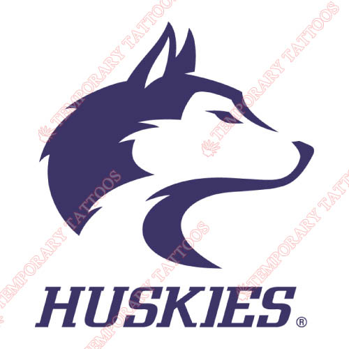 Washington Huskies Customize Temporary Tattoos Stickers NO.6892