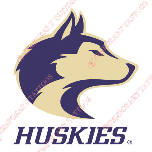 Washington Huskies Customize Temporary Tattoos Stickers NO.6893