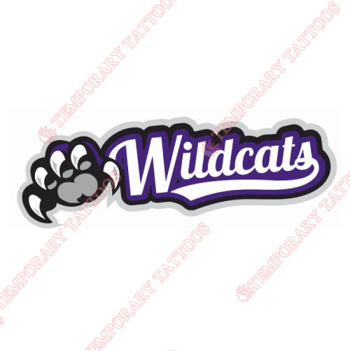 Weber State Wildcats Customize Temporary Tattoos Stickers NO.6921