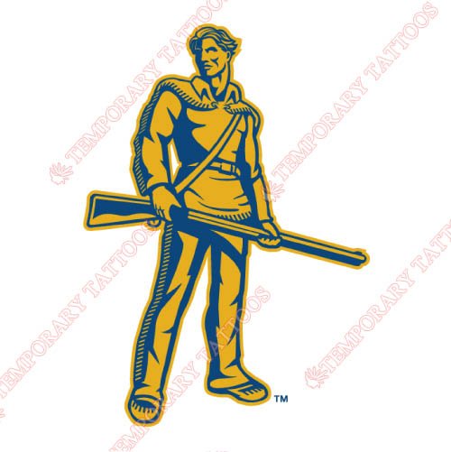 West Virginia Mountaineers Customize Temporary Tattoos Stickers NO.6932