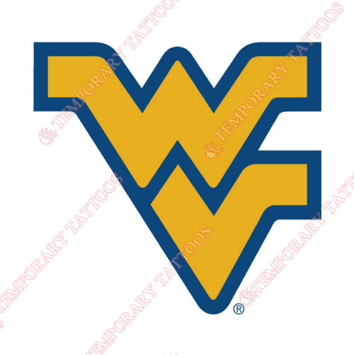 West Virginia Mountaineers Customize Temporary Tattoos Stickers NO.6935
