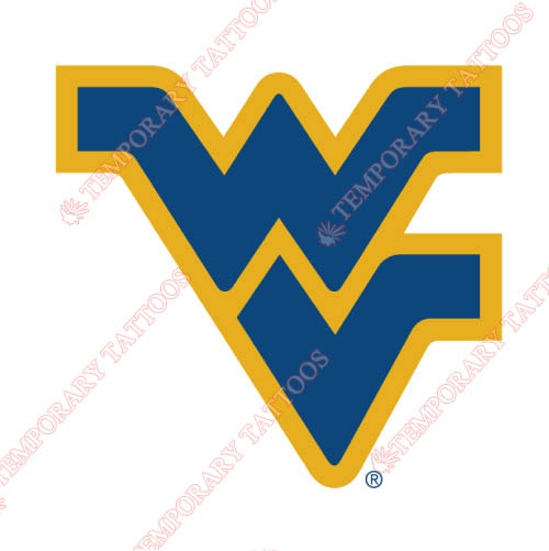 West Virginia Mountaineers Customize Temporary Tattoos Stickers NO.6937
