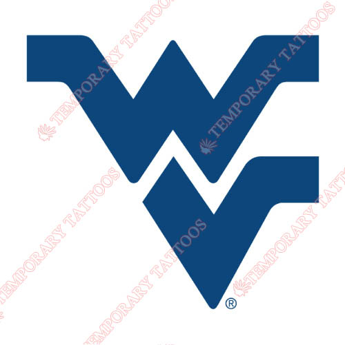 West Virginia Mountaineers Customize Temporary Tattoos Stickers NO.6939