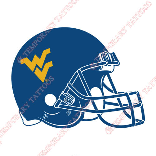 West Virginia Mountaineers Customize Temporary Tattoos Stickers NO.6940