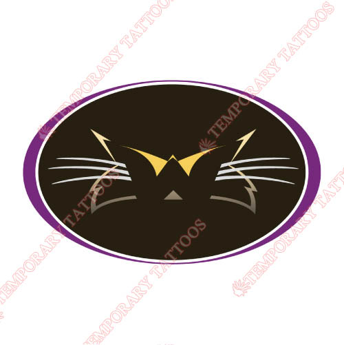 Western Carolina Catamounts Customize Temporary Tattoos Stickers NO.6941