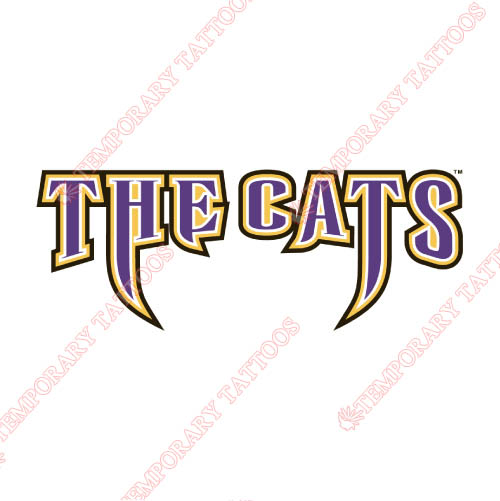 Western Carolina Catamounts Customize Temporary Tattoos Stickers NO.6947