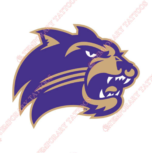 Western Carolina Catamounts Customize Temporary Tattoos Stickers NO.6950