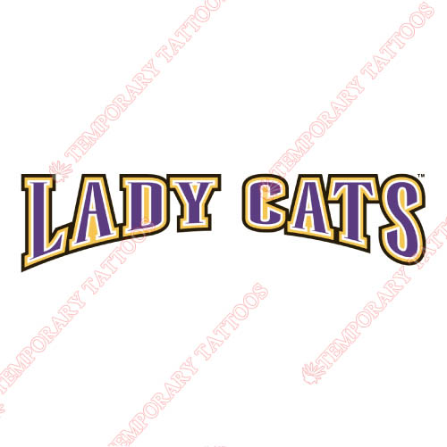 Western Carolina Catamounts Customize Temporary Tattoos Stickers NO.6952