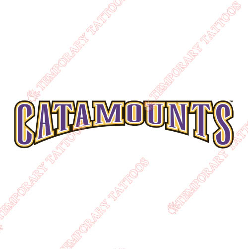 Western Carolina Catamounts Customize Temporary Tattoos Stickers NO.6953