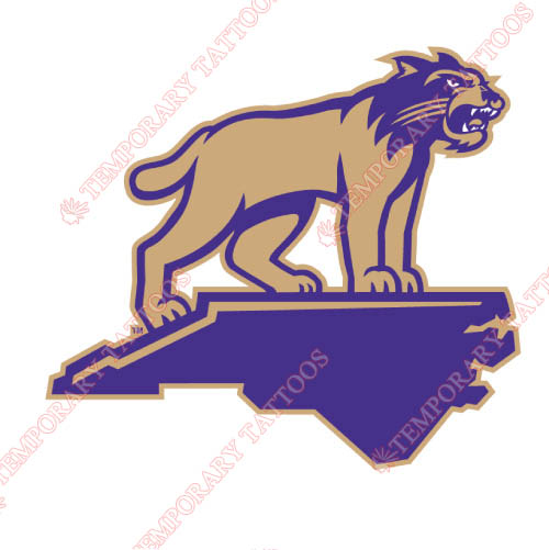 Western Carolina Catamounts Customize Temporary Tattoos Stickers NO.6956
