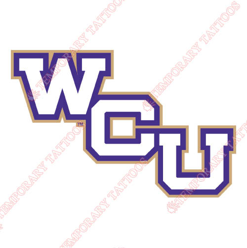 Western Carolina Catamounts Customize Temporary Tattoos Stickers NO.6960