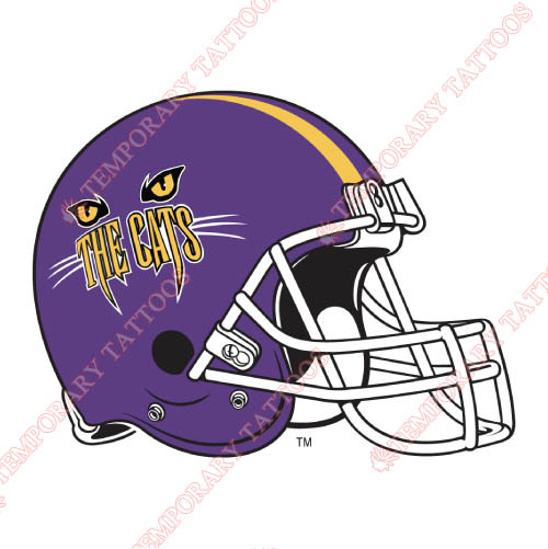 Western Carolina Catamounts Customize Temporary Tattoos Stickers NO.6961
