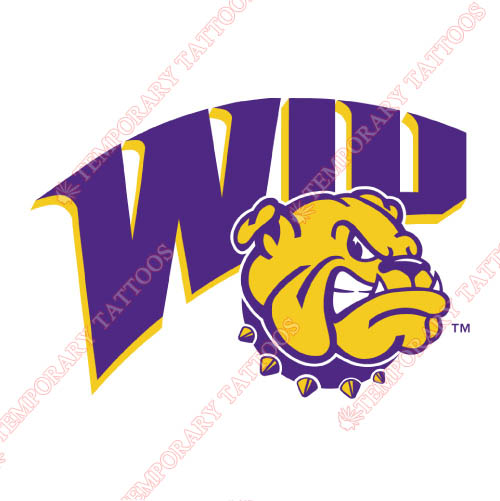 Western Illinois Leathernecks Customize Temporary Tattoos Stickers NO.6967