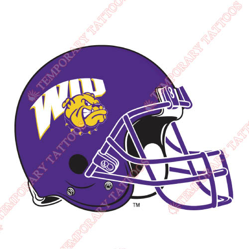 Western Illinois Leathernecks Customize Temporary Tattoos Stickers NO.6972