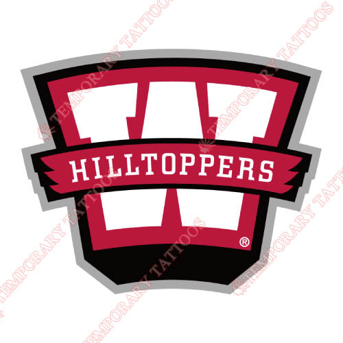 Western Kentucky Hilltoppers Customize Temporary Tattoos Stickers NO.6982
