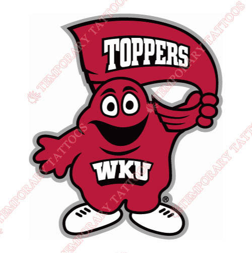 Western Kentucky Hilltoppers Customize Temporary Tattoos Stickers NO.6987