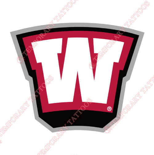 Western Kentucky Hilltoppers Customize Temporary Tattoos Stickers NO.6988