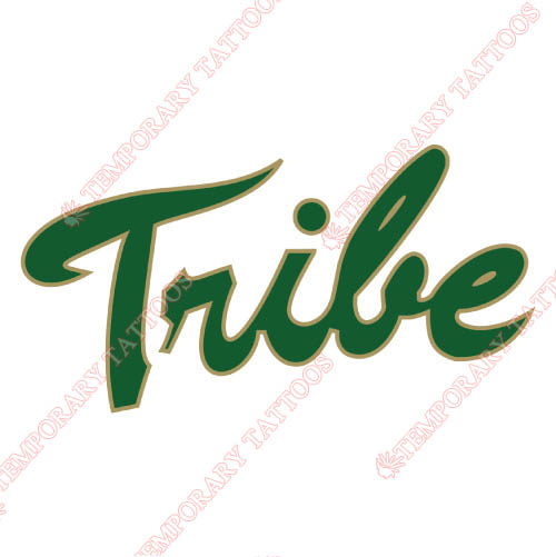 William and Mary Tribe Customize Temporary Tattoos Stickers NO.7006