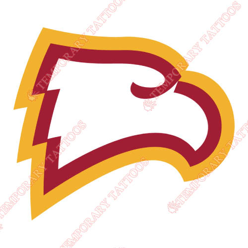 Winthrop Eagles Customize Temporary Tattoos Stickers NO.7012