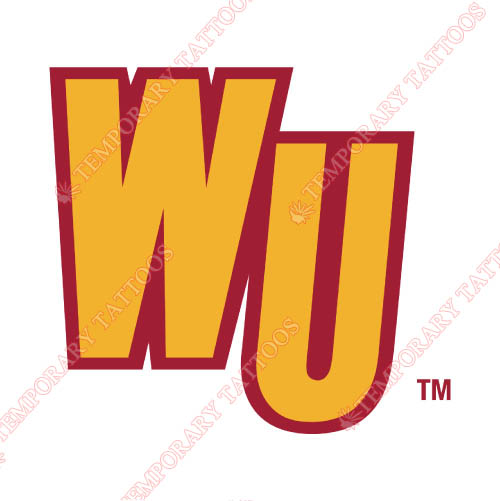 Winthrop Eagles Customize Temporary Tattoos Stickers NO.7015